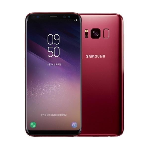 Samsung ra phiên bản Galaxy S8 màu đỏ cạnh tranh iPhone X