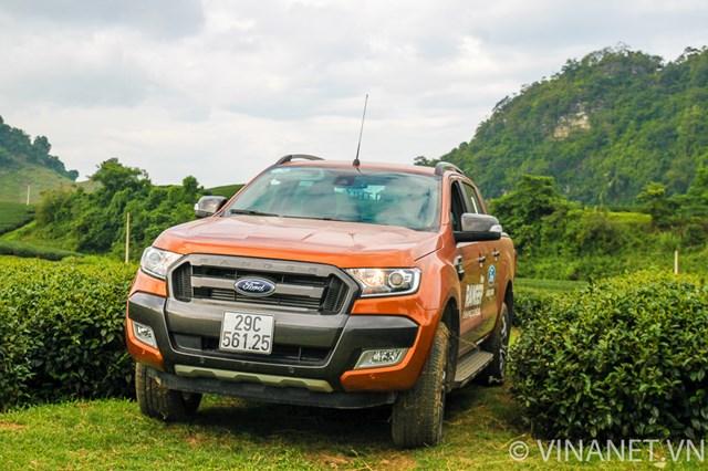 Trải nghiệm Ford Ranger mới trên cao nguyên Mộc Châu (P2)