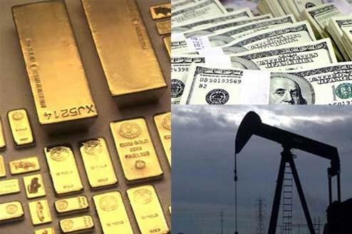 Hàng hóa TG ngày 19/11: Dầu tiếp tục giảm, vàng đảo chiều tăng khi USD giảm