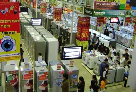 Nhập khẩu hàng điện gia dụng và linh kiện tăng