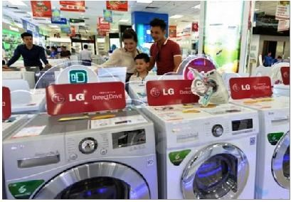 TOP 5 dòng sản phẩm máy giặt bán chạy nhất trong tháng 2/2015