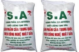 SA - chủng loại phân bón chính nhập khẩu trong 4 tháng đầu năm