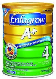 Áp giá bán buôn 8 mặt hàng sữa dòng Enfa