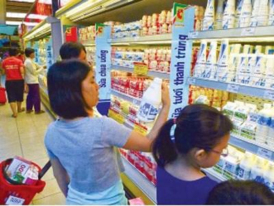 Kim ngạch nhập khẩu sữa và sản phẩm tháng đầu năm 2014 giảm