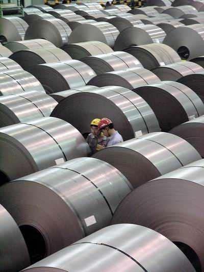 Xuất khẩu sắt thép tăng cả về lượng và trị giá