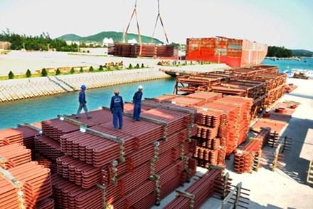Sơ bộ xuất khẩu hàng hóa năm 2013 của Việt Nam